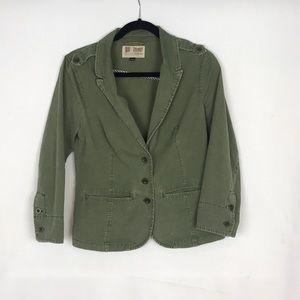 Volcom Army Green Blazer